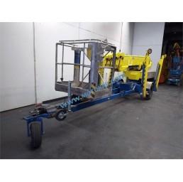 Електрическа вишка на ремарке, хидравлични стабилизатори, 200 кг, 19,1/21,1 м, 24V/230V