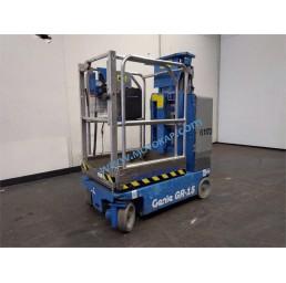 Самоходна електрическа вишка с вертикална мачта Genie 4,52/6,52 м, 230 кг