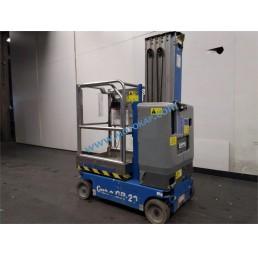 Самоходна електрическа вишка с вертикална мачта Genie 6,02/8,02 м, 160 кг