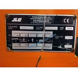Самоходна електрическа вишка с вертикална мачта JLG 10/12 м, 200 кг