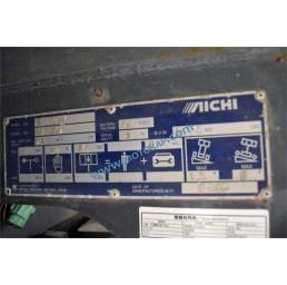 Самоходна електрическа платформена вишка Aichi 6,1/8,1 м 360 кг