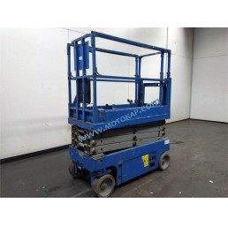 Самоходна електрическа платформена вишка Genie 5,8/7,8 м 270 кг
