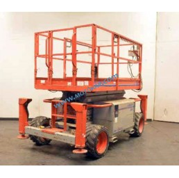 Самоходна дизелова платформена вишка SkyJack 9.75/11.75 м 450 кг