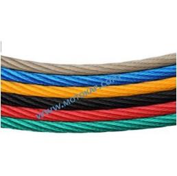 Комбинирано въже 6х7 DIN 3055, жълто