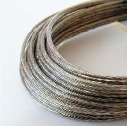 Стоманено въже с PVC покритие, 10/12 мм, 6х19 DIN 3060