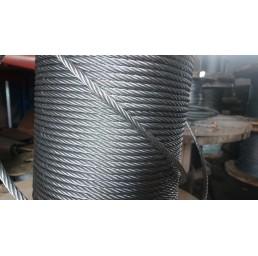 Стоманено поцинковано въже 6х36 (6х37) +МC 12 мм