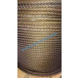 Стоманено въже 6х19S+ОC, DIN 3058, 10 мм