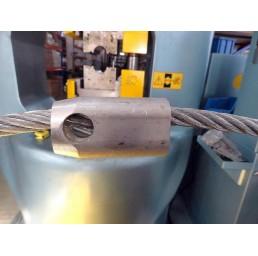 Алуминиева втулка конусовидна за въже 10,0 мм