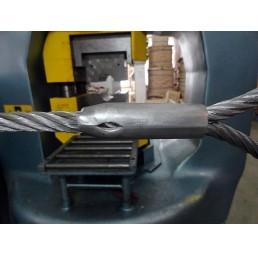 Алуминиева втулка конусовидна за въже 8,0 мм