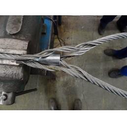 Стоманена втулка конусовидна (фламандско ухо) за въже 8,0 мм