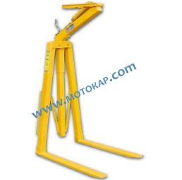 Палетни вилици за кран (кранови вилици) 1500 кг, тип С, самобалансиращи