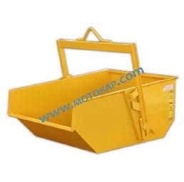 Саморазтоварващ се контейнер с автоматично накланяне 500 литра 1000 кг