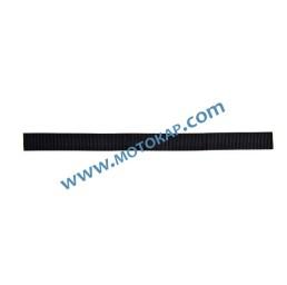 Полиестерна лента за укрепване, черна, 1200 кг 25 мм