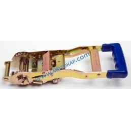 Тресчотка с ергономична дръжка LC 2500 daN, 5,0 тона за укрепващ колан 50 мм
