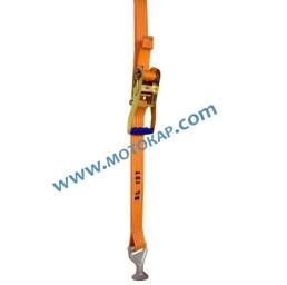 Колан укрепващ с тресчотка за ремаркета 10,0 тона, 3,0 метра, 50 мм