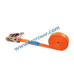 Укрепващ колан 2,5т/6,0м 35 мм с тресчотка, една част, LC 1000 daN
