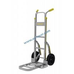 Ръчна количка Stanley 200 кг алуминиева с двойна сгъваема платформа