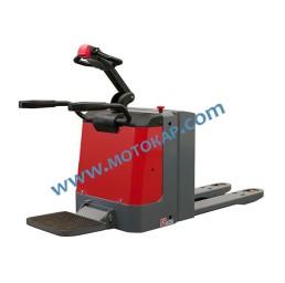 Електрическа транспалетна количка 2,0 тона 24V/225Ah с платформа