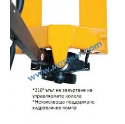 Транспалетна количка 2,5 тона финландска, 80÷200 мм