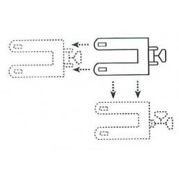 Транспалетна количка със странично преместване, 2,0/1,2 тона, 85÷220 мм, финландска