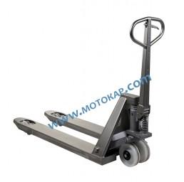 Транспалетна количка 100% неръждавейка 1130 мм