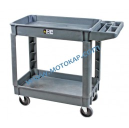 Платформена количка 250 кг 435х790 мм, две нива