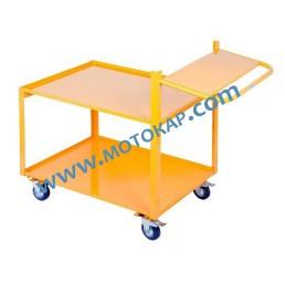 Платформена количка 250 кг 700х1000 мм, две нива