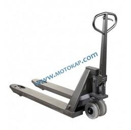 Транспалетна количка неръждавейка/инокс 2.5 тона