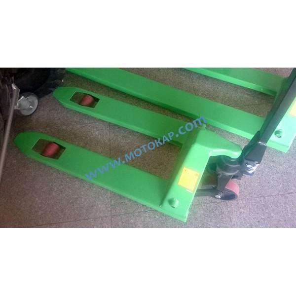Транспалетна количка с къси вилици 2,5 тона / 950 мм
