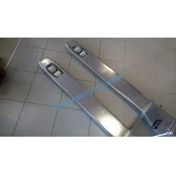 Транспалетна количка полунеръждавейка/инокс 2.5 тона