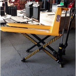 Транспалетна ножична хидравлична количка 1000 кг/800 мм