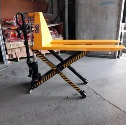 Транспалетна ножична хидравлична количка 1500 кг/800 мм