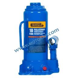 Хидравличен бутилков крик 10,0 тона, 222 – 447 мм (367 + 80 мм)