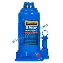 Хидравличен бутилков крик 15,0 тона, 227 – 457 мм (377 + 80 мм)