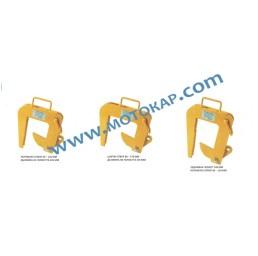 Захват/сапан двураменен 2,0 тона 60 ÷ 120 мм за бетонни тръби
