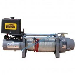 Лебедка електрическа автомобилна 12V, 2,7 т. (6000 lb), 24 м, 2,4 kW, тип DV