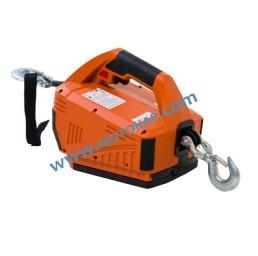 Електрическа въжена лебедка 450 кг, 4,6 метра, дистанционно, 24V, тип HL-S