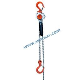 Мини верижна лебедка с тресчотка 250 кг, 3 метра
