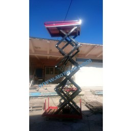 Платформа/вишка ножична електрическа статична 400 кг / 4 метра