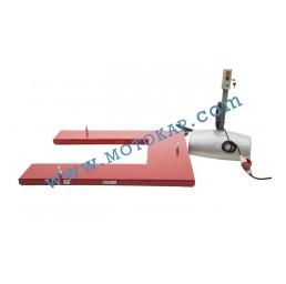 Електрическа ножична платформа 1000 кг, 80-760 мм, 1450х1140 мм