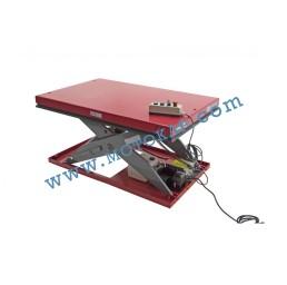 Електрическа ножична платформа 2000 кг, 190-1010 мм, 1300х800 мм