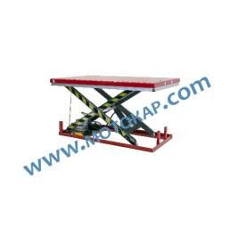 Електрическа ножична платформа 1000 кг, 205-1000 мм, 1600х1000 мм