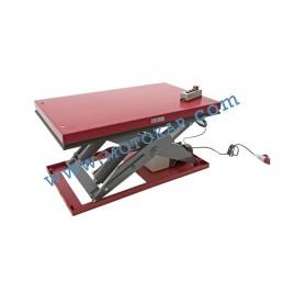 Електрическа ножична платформа 1000 кг, 190-1010 мм, 1300х800 мм