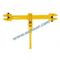 Верижен обтегач за верига 10 мм с тресчотка 3,15 т, LC 6300 кг, за повдигане и укрепване ПО ЗАПИТВАНЕ