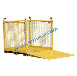 Кош за пренасяне на товари за кран/кранови вилици 2000 кг