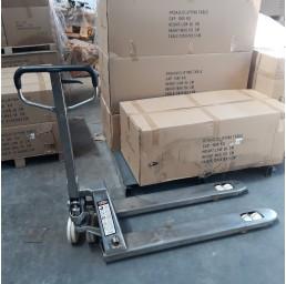 Транспалетна количка неръждавейка, 3,0 тона