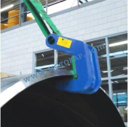 Лапа/захват за тръби с тефлоново покритие 3000 кг, тип TF