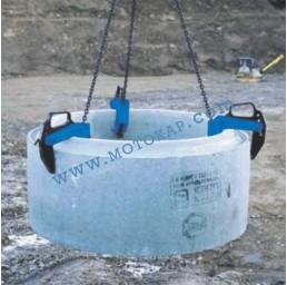 Лапа/захват за бетонови тръби 1500 кг*, тип CL
