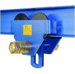 Ръчна гредова количка 500 кг, 64-140 мм, тип PT
