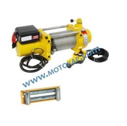 Лебедка електрическа автомобилна 24V, 4,5 тона (10 000 lb), 28 метра, 3,0 kW